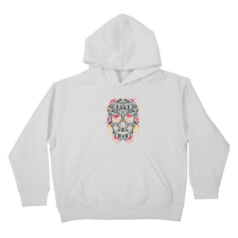 Sweet Streets Skull Kids Pullover Hoody by zoelone's Artist Shop