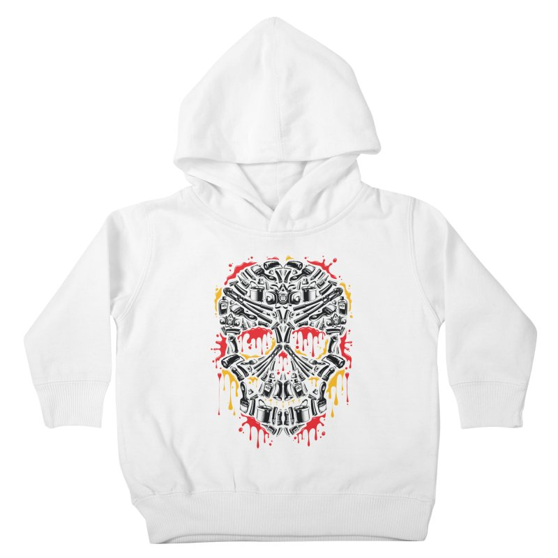 Sweet Streets Skull Kids Toddler Pullover Hoody by zoelone's Artist Shop