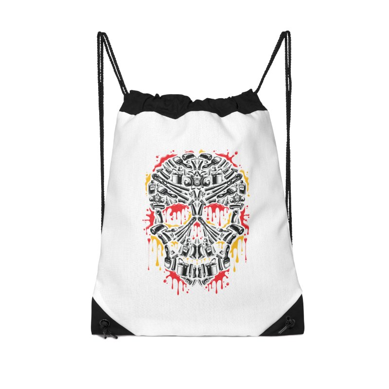 Sweet Streets Skull Accessories Bag by zoelone's Artist Shop