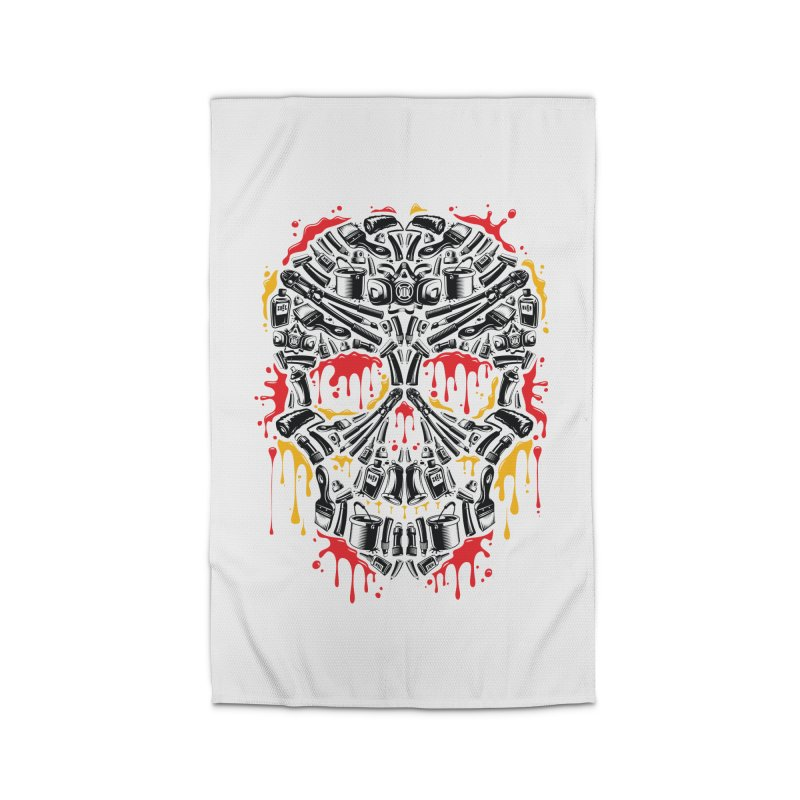 Sweet Streets Skull Home Rug by zoelone's Artist Shop