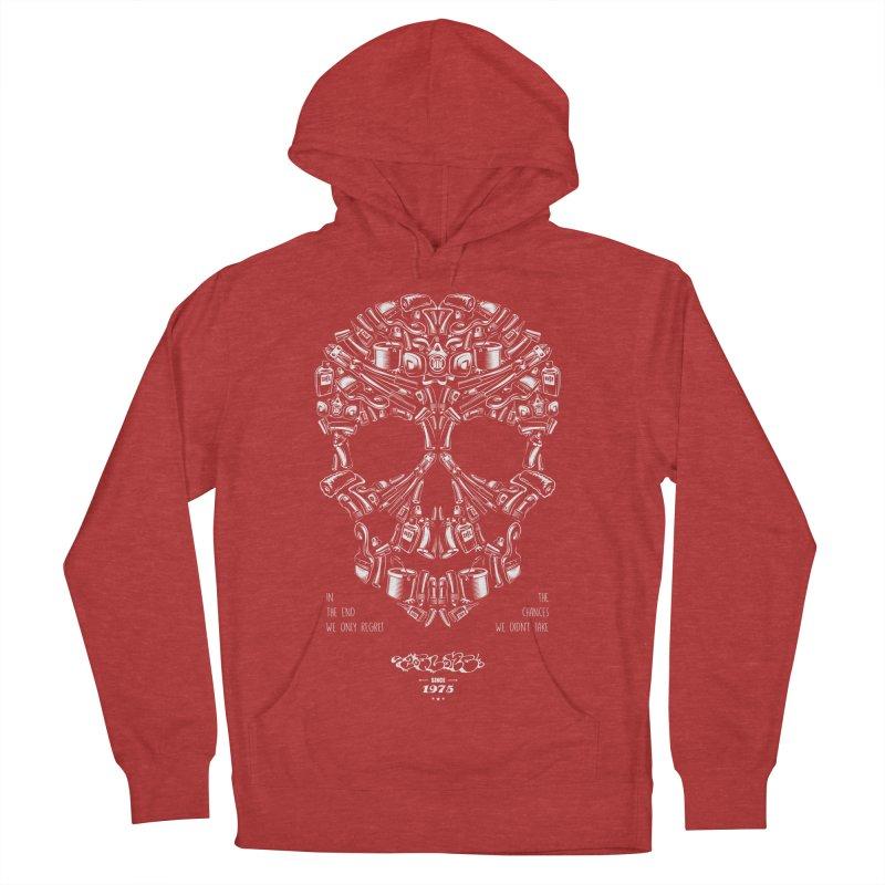 Sweet Street Skull Black Women's Pullover Hoody by zoelone's Artist Shop