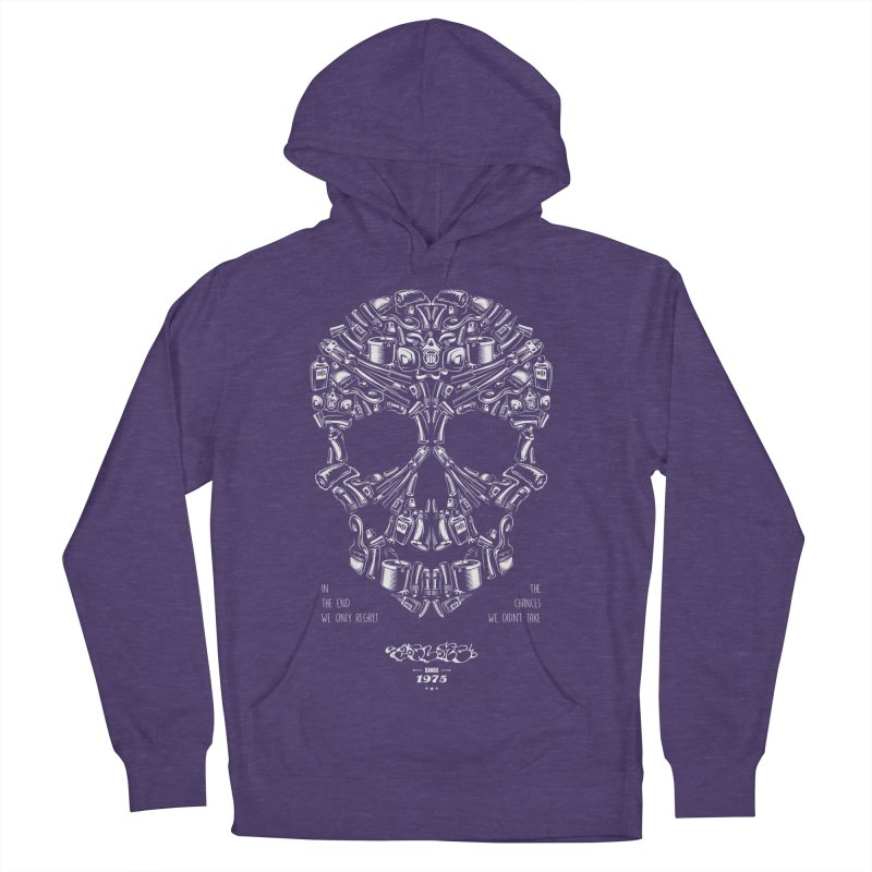 Sweet Street Skull Black Men's Pullover Hoody by zoelone's Artist Shop