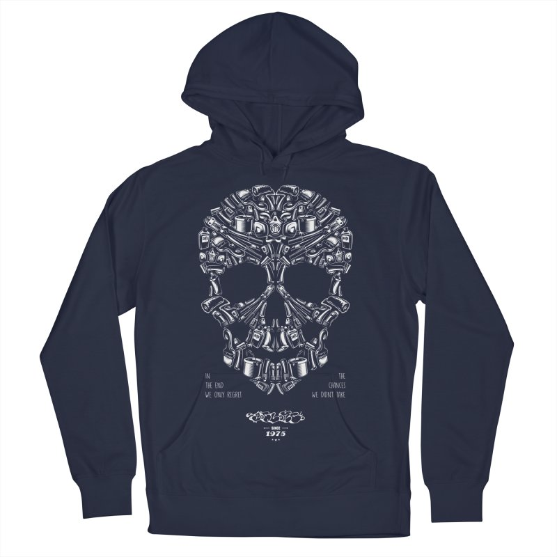 Sweet Street Skull Black Men's Pullover Hoody by zoelone's Artist Shop