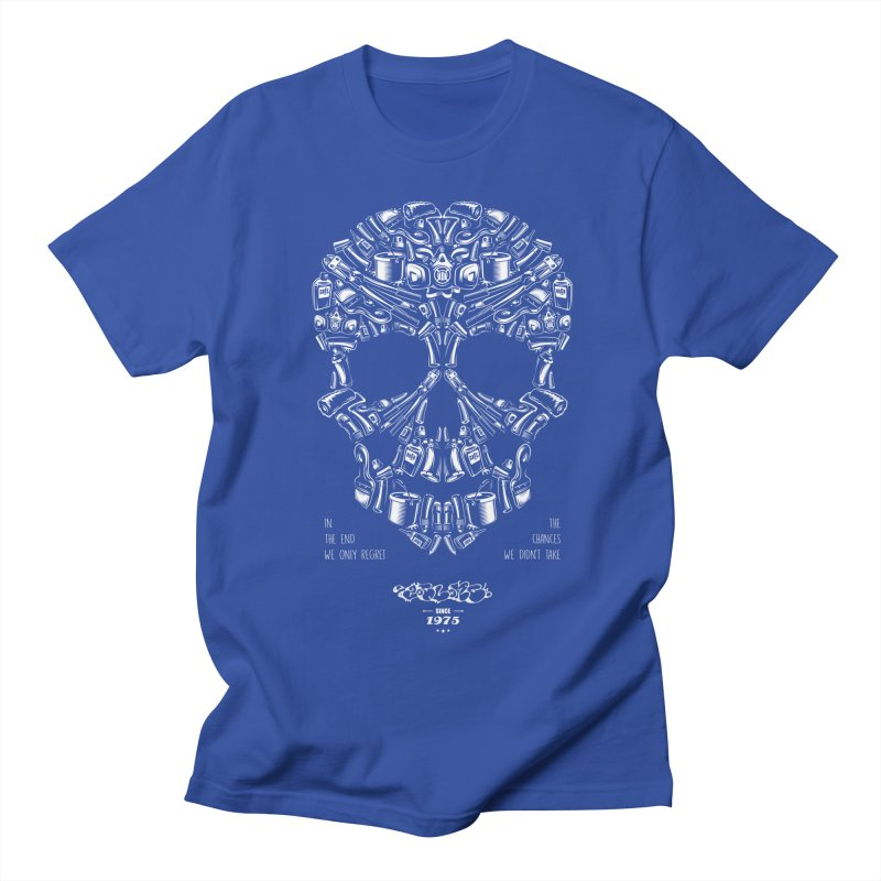 Sweet Street Skull Black Women's Regular Unisex T-Shirt by zoelone's Artist Shop