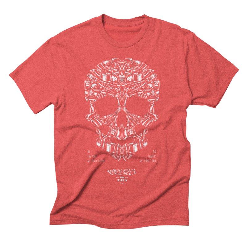 Sweet Street Skull Black Men's Triblend T-Shirt by zoelone's Artist Shop
