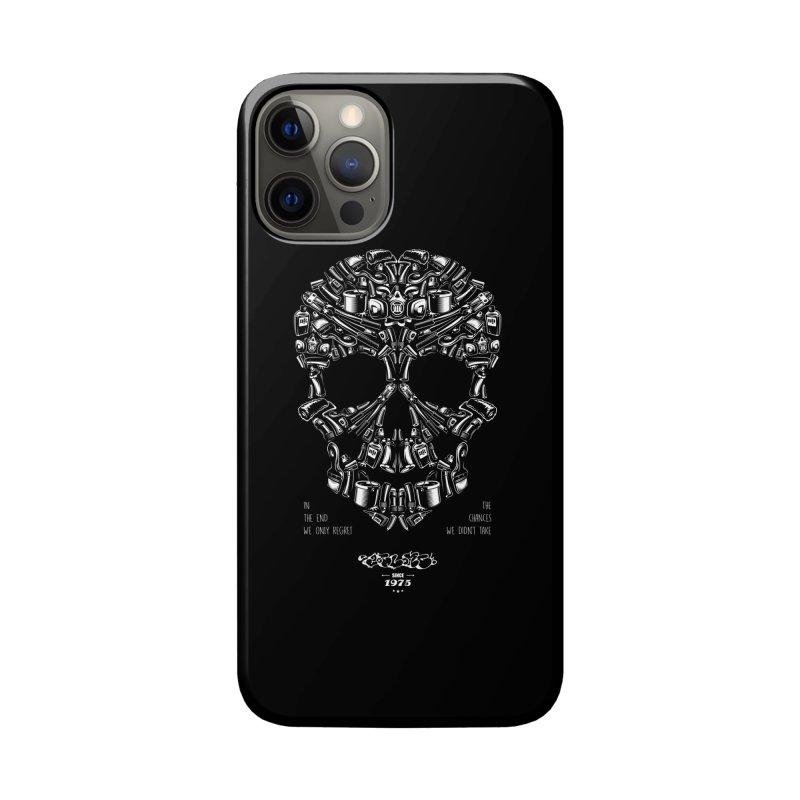 Sweet Street Skull Black Accessories Phone Case by zoelone's Artist Shop