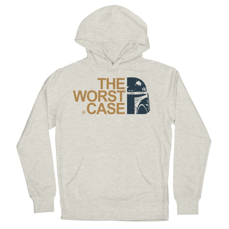 The Worst Case - Boba Fett Men's French Terry Pullover Hoody by zoelone's Artist Shop
