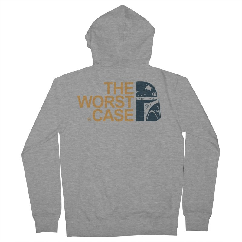 The Worst Case - Boba Fett Women's French Terry Zip-Up Hoody by zoelone's Artist Shop