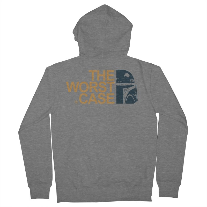 The Worst Case - Boba Fett Men's French Terry Zip-Up Hoody by zoelone's Artist Shop