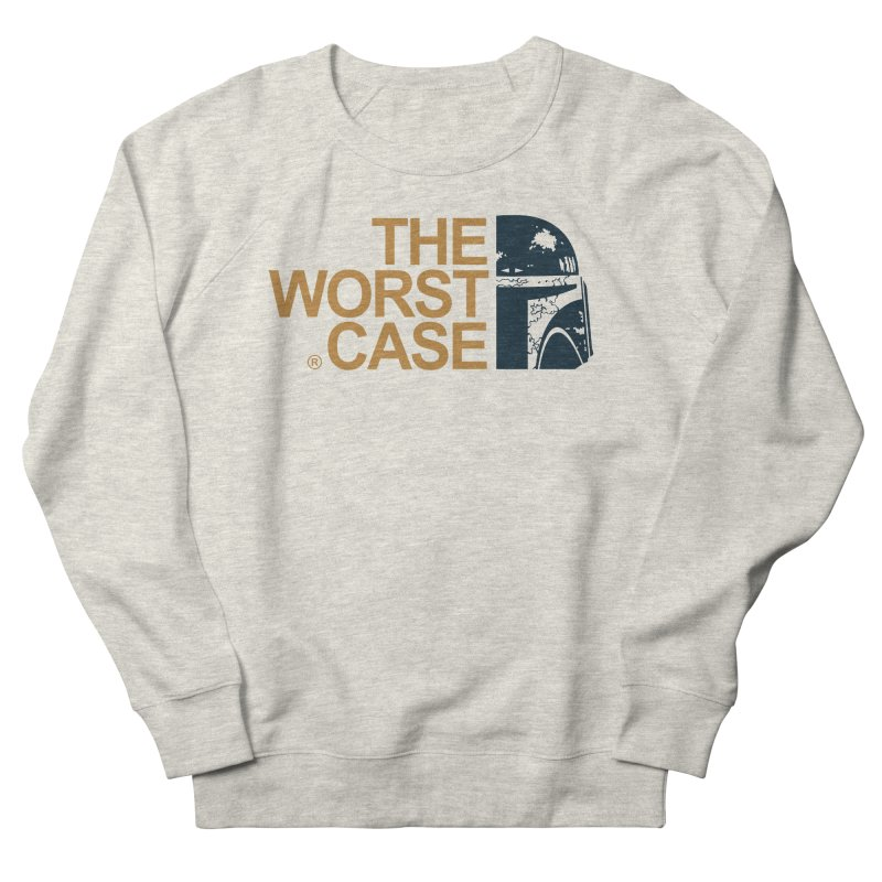 The Worst Case - Boba Fett Men's French Terry Sweatshirt by zoelone's Artist Shop