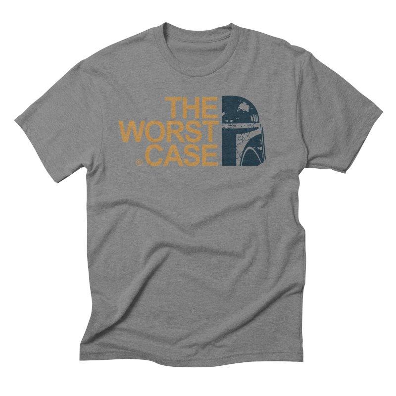 The Worst Case - Boba Fett Men's Triblend T-Shirt by zoelone's Artist Shop