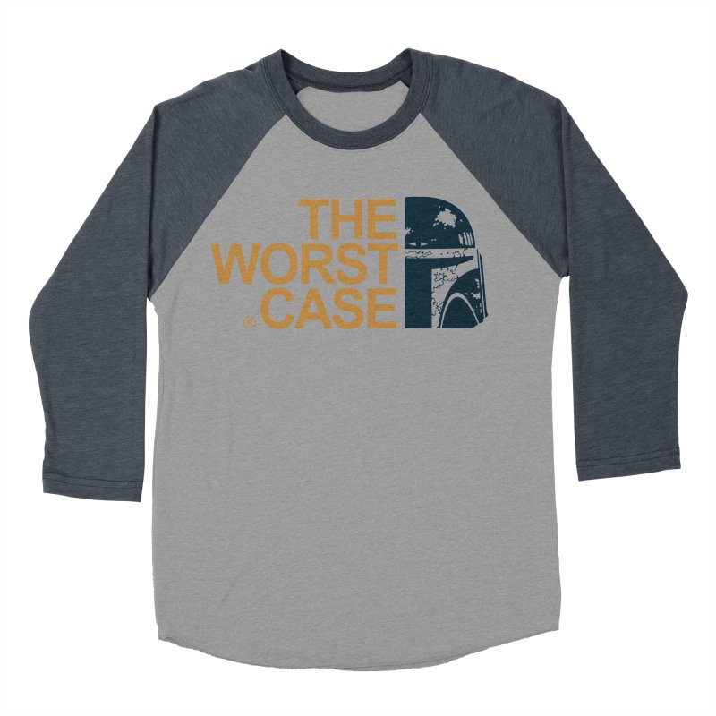 The Worst Case - Boba Fett Women's Baseball Triblend Longsleeve T-Shirt by zoelone's Artist Shop