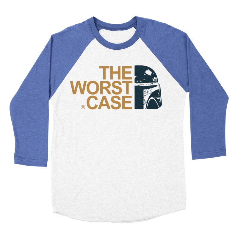 The Worst Case - Boba Fett Men's Baseball Triblend Longsleeve T-Shirt by zoelone's Artist Shop