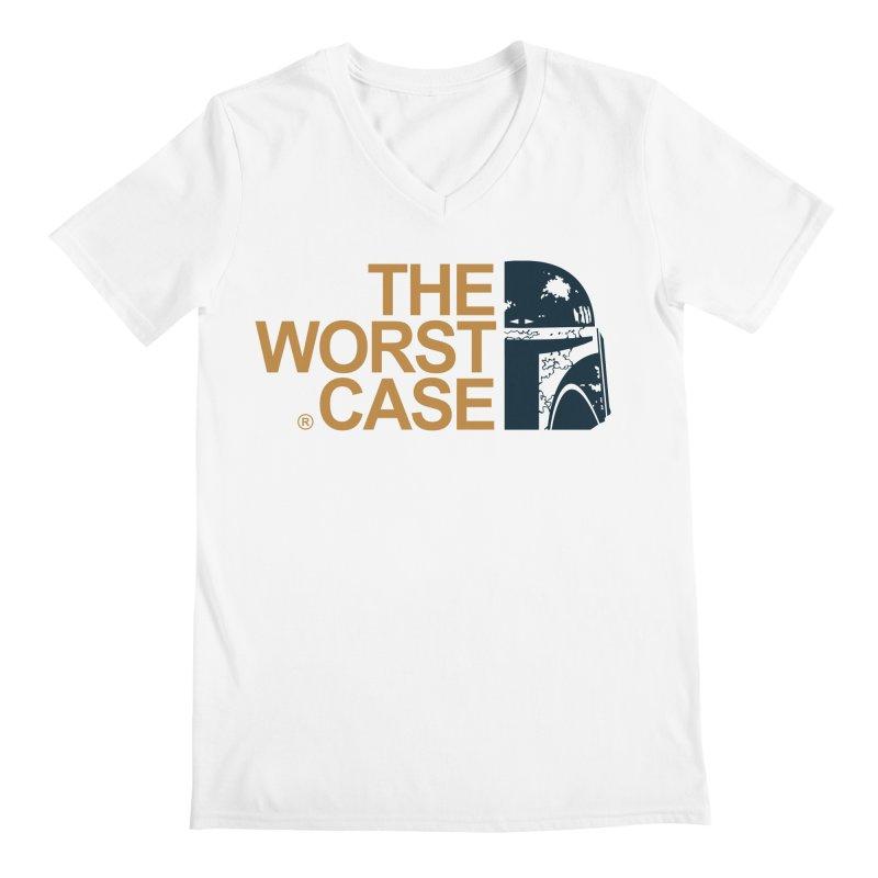 The Worst Case - Boba Fett Men's V-Neck by zoelone's Artist Shop