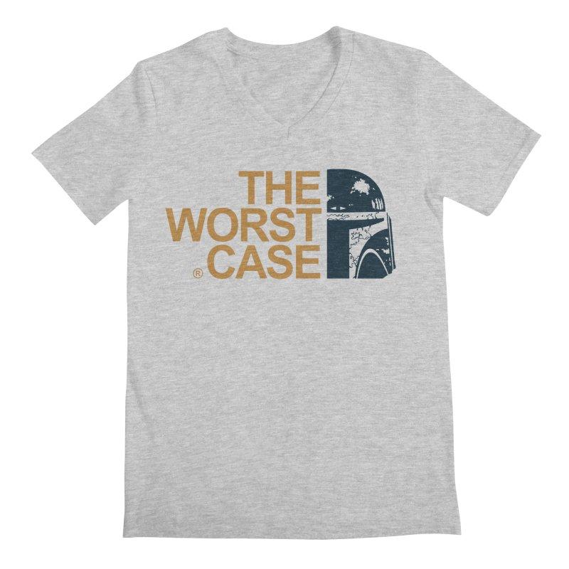 The Worst Case - Boba Fett Men's Regular V-Neck by zoelone's Artist Shop
