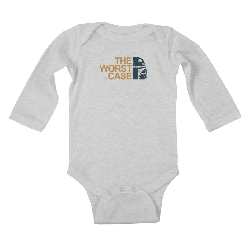 The Worst Case - Boba Fett Kids Baby Longsleeve Bodysuit by zoelone's Artist Shop