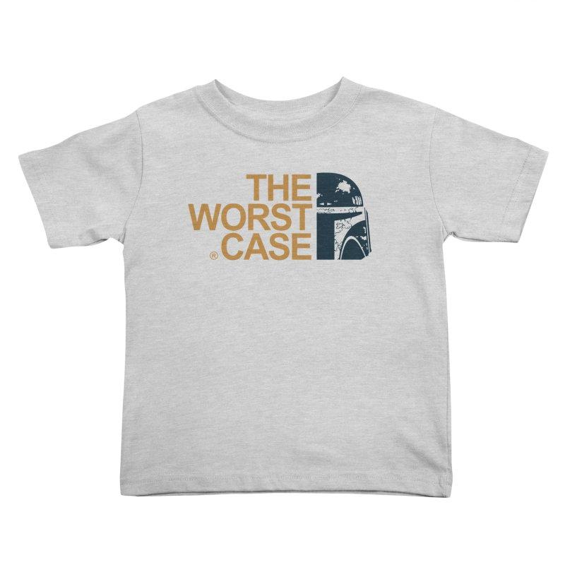 The Worst Case - Boba Fett Kids Toddler T-Shirt by zoelone's Artist Shop