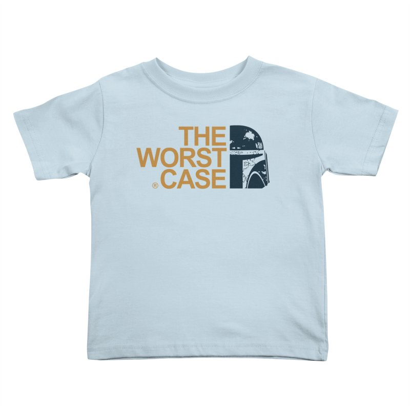The Worst Case - Boba Fett Kids Toddler T-Shirt by zoelone's Artist Shop