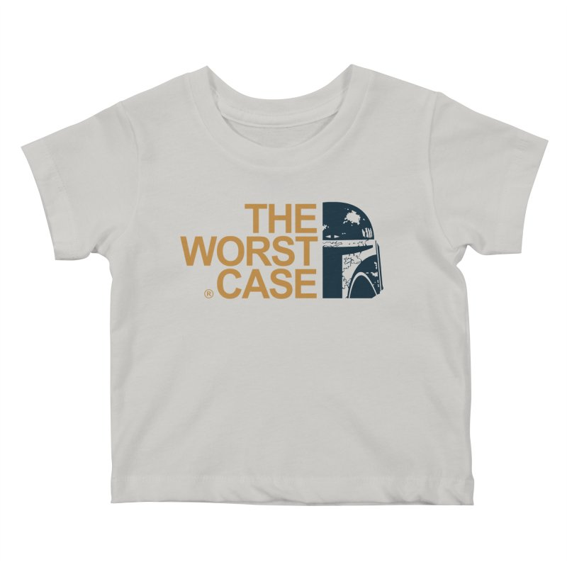 The Worst Case - Boba Fett Kids Baby T-Shirt by zoelone's Artist Shop