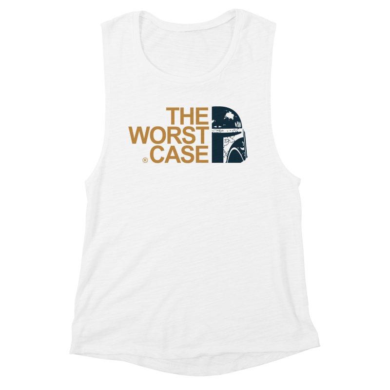 The Worst Case - Boba Fett Women's Muscle Tank by zoelone's Artist Shop