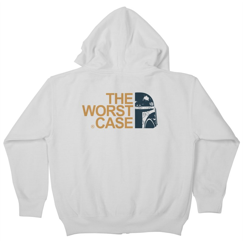 The Worst Case - Boba Fett Kids Zip-Up Hoody by zoelone's Artist Shop