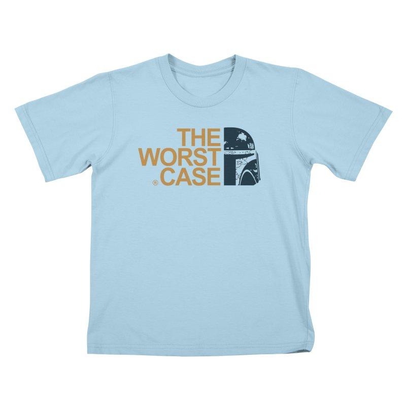 The Worst Case - Boba Fett Kids T-Shirt by zoelone's Artist Shop
