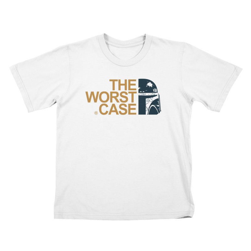 The Worst Case - Boba Fett Kids T-Shirt by zoelone's Artist Shop