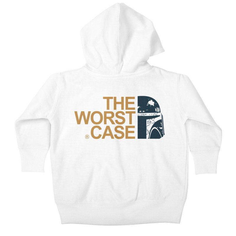 The Worst Case - Boba Fett Kids Baby Zip-Up Hoody by zoelone's Artist Shop