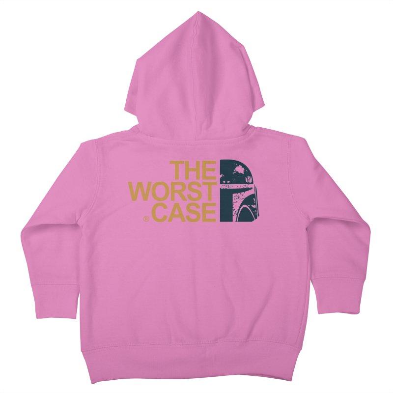 The Worst Case - Boba Fett Kids Toddler Zip-Up Hoody by zoelone's Artist Shop