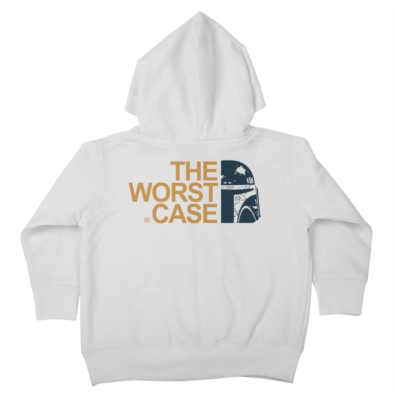 The Worst Case - Boba Fett Kids Toddler Zip-Up Hoody by zoelone's Artist Shop