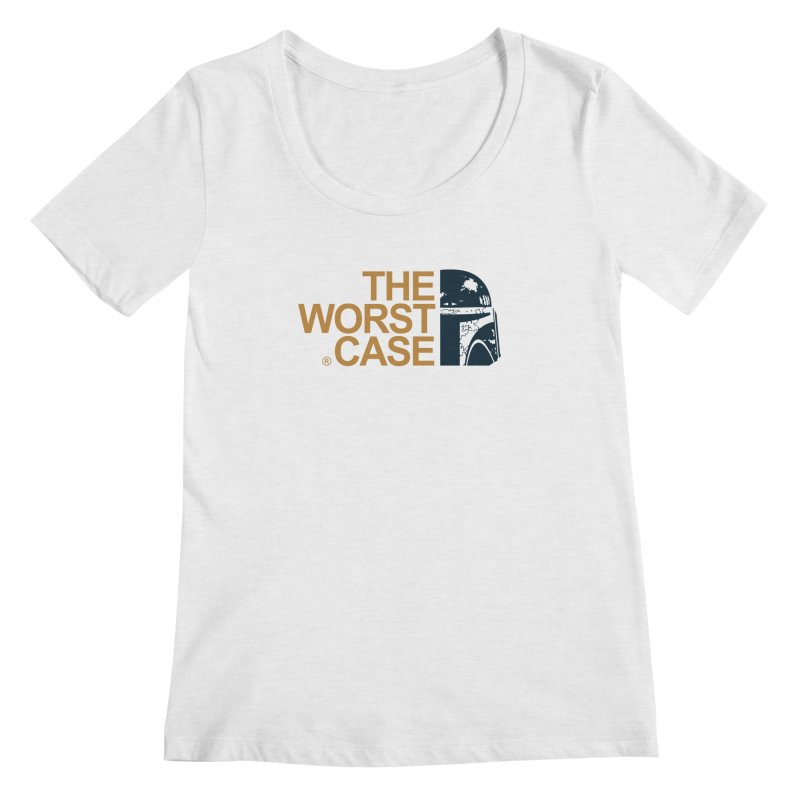 The Worst Case - Boba Fett Women's Scoopneck by zoelone's Artist Shop