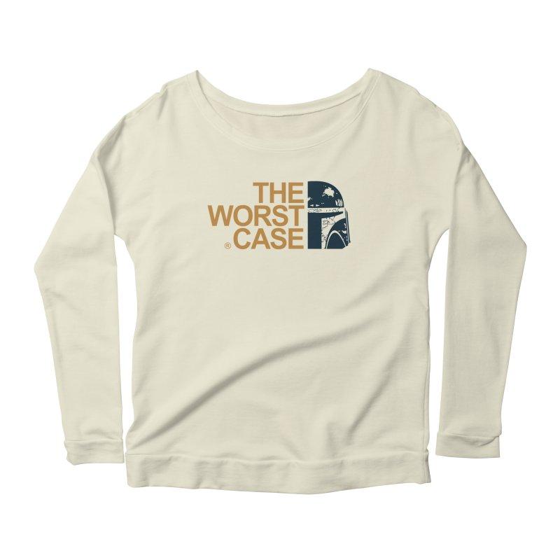 The Worst Case - Boba Fett Women's Longsleeve Scoopneck  by zoelone's Artist Shop