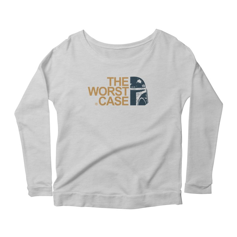 The Worst Case - Boba Fett Women's Scoop Neck Longsleeve T-Shirt by zoelone's Artist Shop