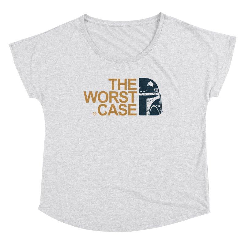 The Worst Case - Boba Fett Women's Dolman Scoop Neck by zoelone's Artist Shop
