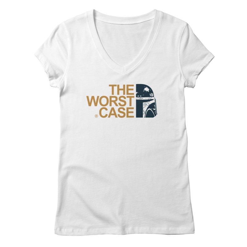 The Worst Case - Boba Fett Women's Regular V-Neck by zoelone's Artist Shop