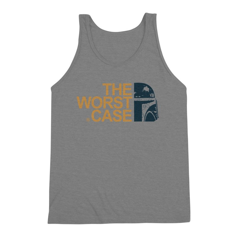 The Worst Case - Boba Fett Men's Triblend Tank by zoelone's Artist Shop