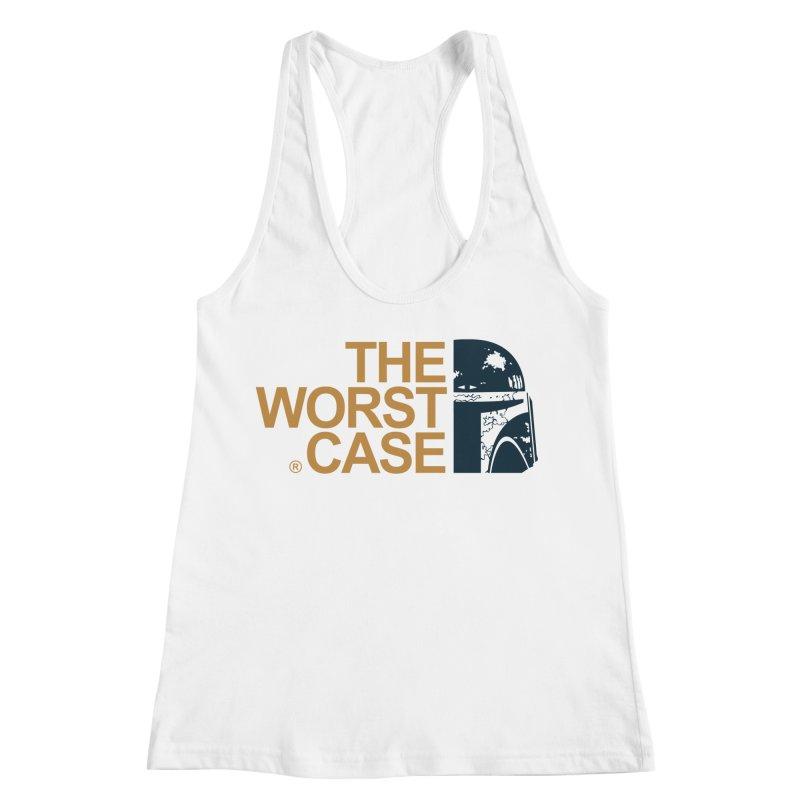 The Worst Case - Boba Fett Women's Racerback Tank by zoelone's Artist Shop