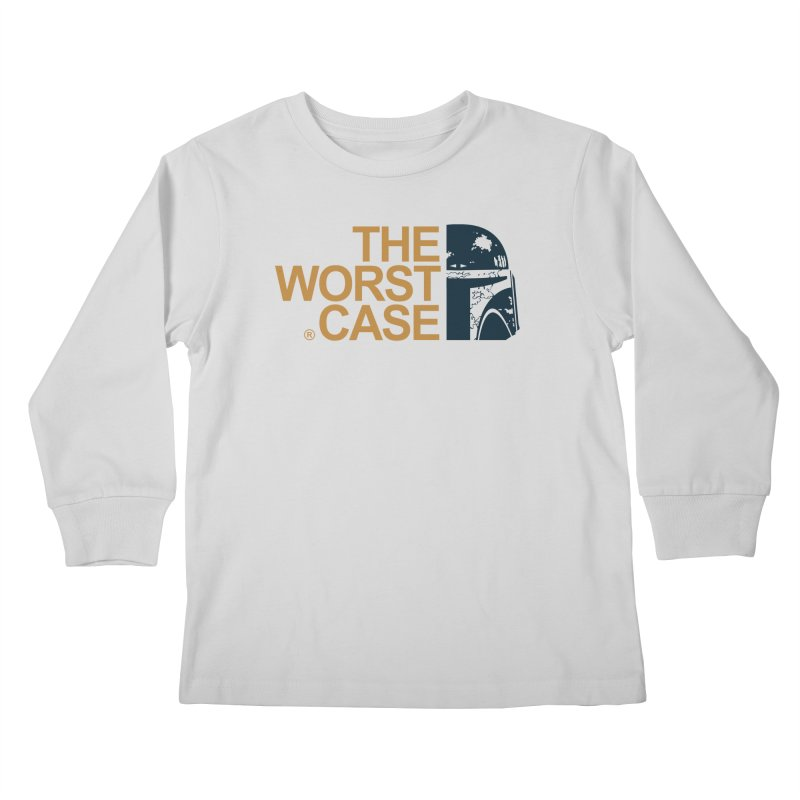 The Worst Case - Boba Fett Kids Longsleeve T-Shirt by zoelone's Artist Shop