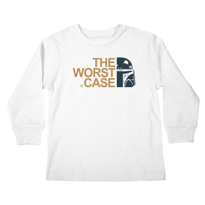 The Worst Case - Boba Fett Kids Longsleeve T-Shirt by zoelone's Artist Shop