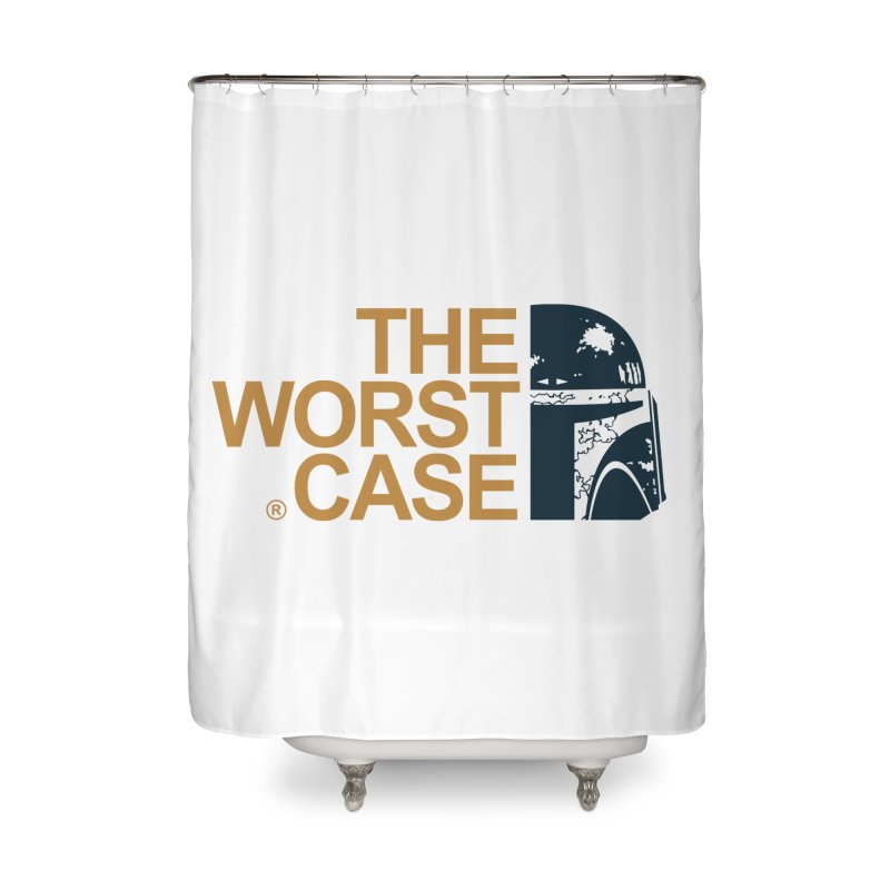 The Worst Case - Boba Fett Home Shower Curtain by zoelone's Artist Shop