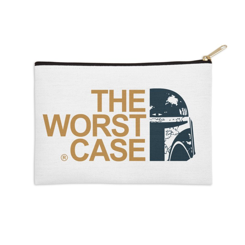 The Worst Case - Boba Fett Accessories Zip Pouch by zoelone's Artist Shop