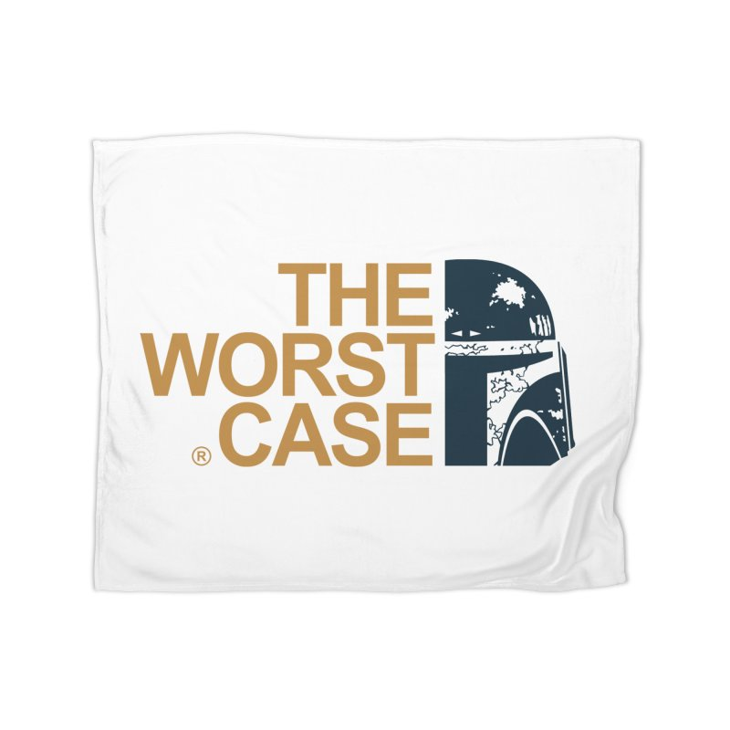 The Worst Case - Boba Fett Home Blanket by zoelone's Artist Shop