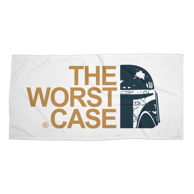 The Worst Case - Boba Fett Accessories Beach Towel by zoelone's Artist Shop