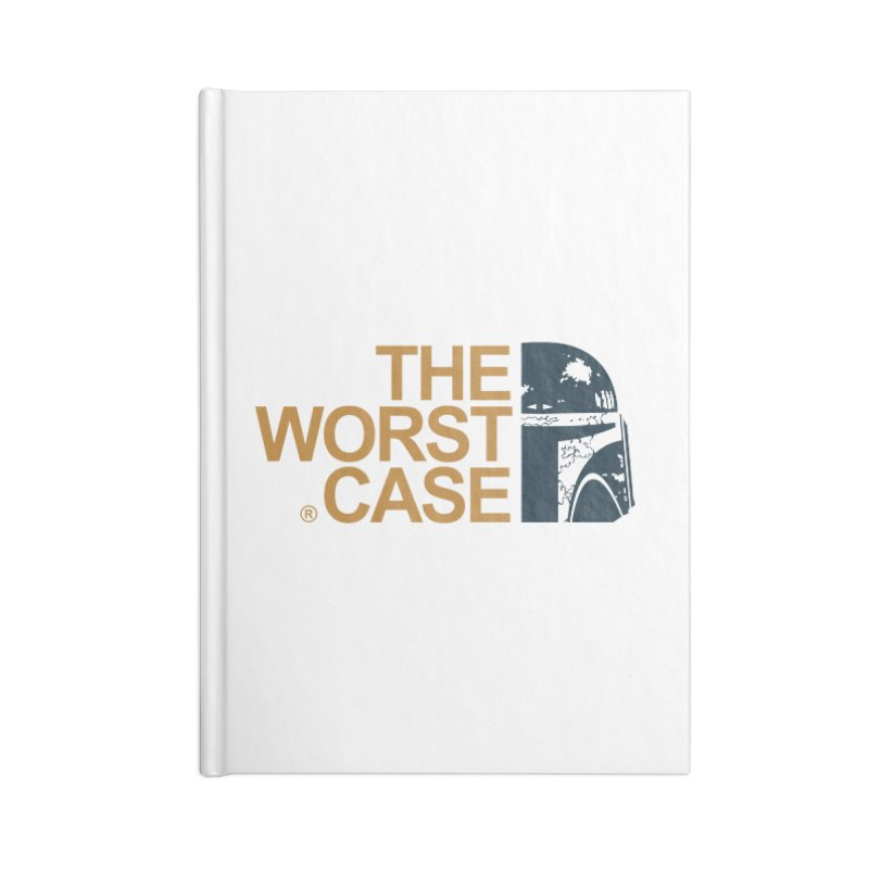 The Worst Case - Boba Fett Accessories Blank Journal Notebook by zoelone's Artist Shop
