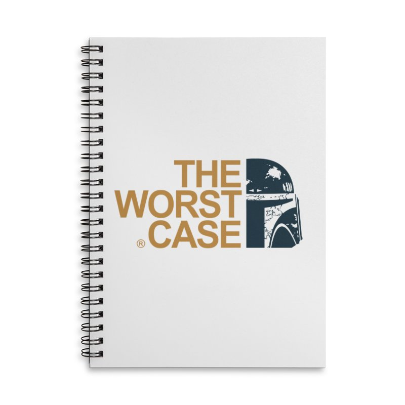 The Worst Case - Boba Fett Accessories Lined Spiral Notebook by zoelone's Artist Shop