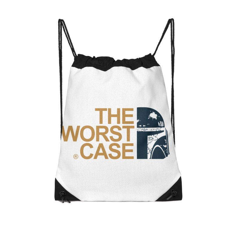 The Worst Case - Boba Fett Accessories Drawstring Bag Bag by zoelone's Artist Shop