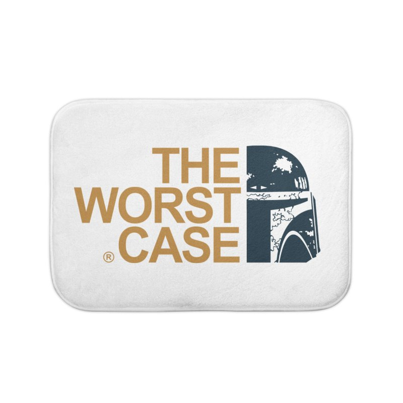 The Worst Case - Boba Fett Home Bath Mat by zoelone's Artist Shop