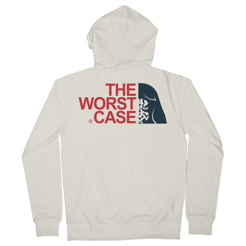 The Worst Case - Maul Women's French Terry Zip-Up Hoody by zoelone's Artist Shop