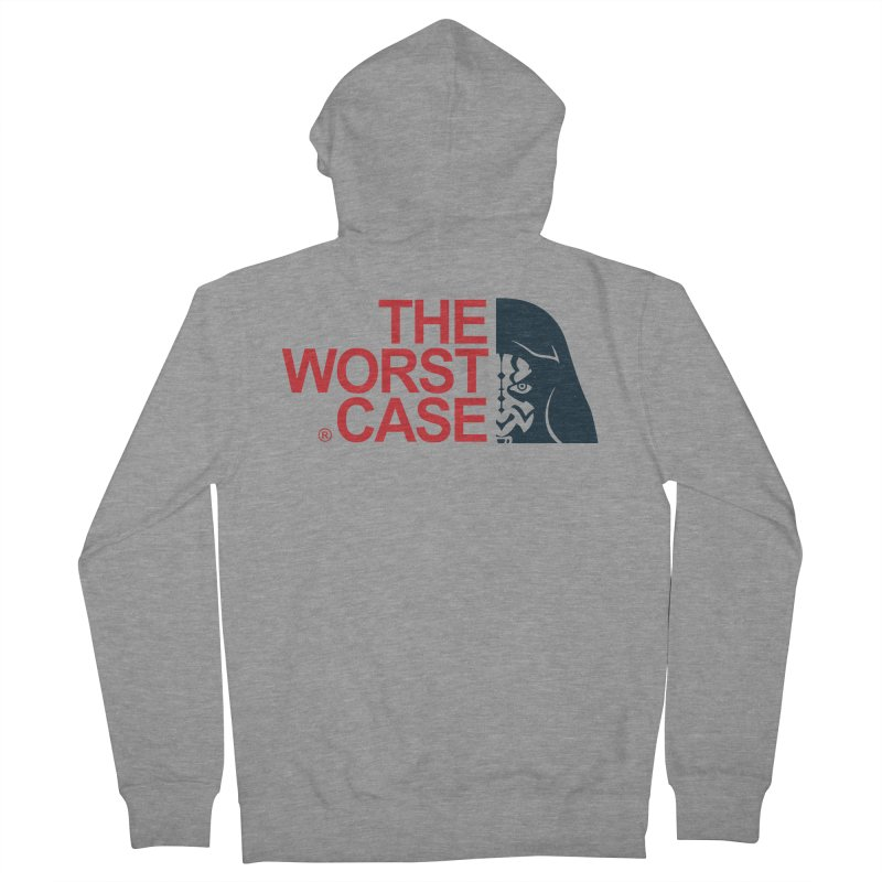 The Worst Case - Maul Men's French Terry Zip-Up Hoody by zoelone's Artist Shop