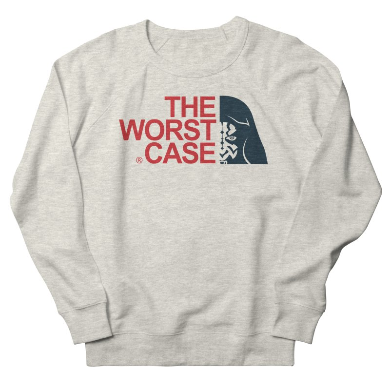 The Worst Case - Maul Men's French Terry Sweatshirt by zoelone's Artist Shop